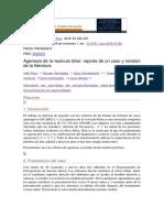 Agenesia de La Vesicula Biliar, Reporte de Un Caso 2018