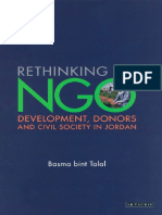 Basma bint al-Talal - Rethinking and NGO_ Development, Donors and Civil Society in Jordan (2004).pdf