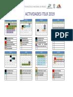 Calendario Escolar 2019 Ver3