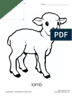 Preschool Lamb