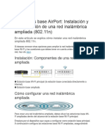 Estaciones Base AirPort Configuracion
