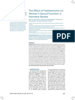 The Effect of Hysterectomy on Womens Sexual Funct