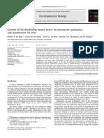 Bouke Et Al. Dev. Biol. (2012) Growth of the Developing Mouse Heart - An Interactive Qualitative and Quantitative 3D Atlas