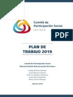 Plan de Trabajo CPS 2019