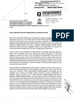 Denuncia contra el gobernador de Sucre