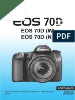 EOS 70D Instruction Manual PT