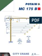 Potain mc175b