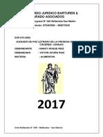 Estudio Juridico Barturen Asociados Para Los Expedientes