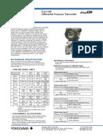 Manual Sensor de Presion Diferencial