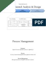 Week 6 - Modeling Processes