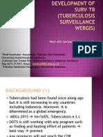 Development of Surv-tb (Tuberculosis Surveillance