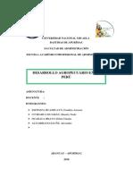 DESARROLLO AGROPECUARIO en el peru expo.docx