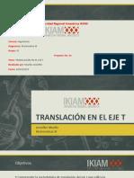 Translación en El Eje t - Laplace