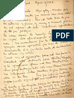 [Carta] 1948 apr. 14, New York, [EE.UU.] [a] Gabriela Mistral, [Los Angeles, EE.UU.] [manuscrito] María Luisa Bombal
