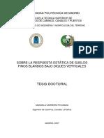 Estatica de los suelos blandos finos en diques verticales, Manuela Carreiro, 2007.pdf