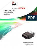 Gv500 User Manual v1.00