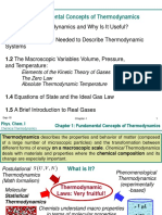Chapter I Fundamental Concepts of Thermodynamics STUD