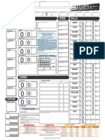 M&M 3E Character Sheet (Telriche Blade v3.8) Fillable