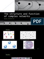 The Structure and Function of Complex Networks