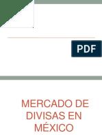 Mercado de Divisas en Mexico