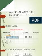 DISEÑO DE ACERO EN ESTRIBOS DE PUENTE.pdf