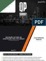 Palestra 01 - Aplicação Do Lean Na Construção Civil e No Varejo
