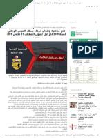 فتح مناظرة لإنتداب عرفاء بسلك الحرس الو...019 آخر أجل لقبول المطالب 11 مارس 2019
