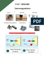 F137 - RESUMO - Eletromagnetismo