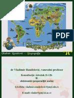 BIO 01 Uvod u Biogeografiju