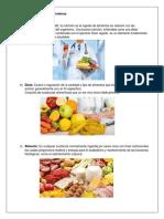 cuestionario nutricion