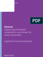Channel Guidance - Supporting Individuals Vulnerable to Recruitment by Violent Extremists