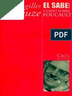 Deleuze_2013_El Saber. Curso Sobre Foucault. Tomo I