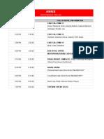 Annie Performance Timeline - Sheet1