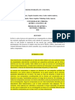 Informe Sin Terminar Cromatografia en Columna