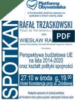 trzaskowski spotkanie