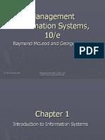 Sistem Informasi Manajemen McLeod chapter 01