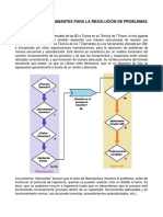 Técnica de Los 7 Diamantes Para La Resolución de Problemas de Manufactura