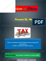 Tax System of China
