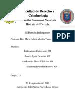 El Derecho Prehispánico HISTORIA DEL DERECHO