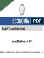 Economía II - Unidad N° 4 - Acumulación y Crisis - Globalización y Competencia - Bresser Pereira