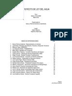 Proyecto Ley del Agua - Colombia