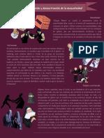 Construcción y Deconstrucción de La Masculinidad Infografia