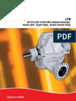 API 610_ISO 13709 (BB1) Pump Bearings