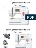 Sewing Machine Parts and Functions 1