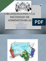 Tema 1 Organizaciones y La Necesidad de Administrarlas