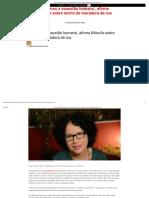 'Vivemos a Exaustão Humana', Afirma Filósofa Sobre Morte de Moradora de Rua - Revista Prosa Verso e Arte
