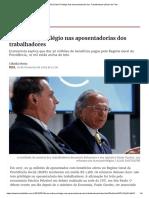 Não Existe Privilégio Nas Aposentadorias Dos Trabalhadores _ Brasil de Fato