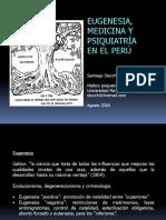 Eugenesia, medicina y psiquiatría en el Perú