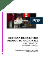 Defensa de Nuestro Producto Pisco