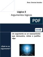 C3 Argumentos Lógicos